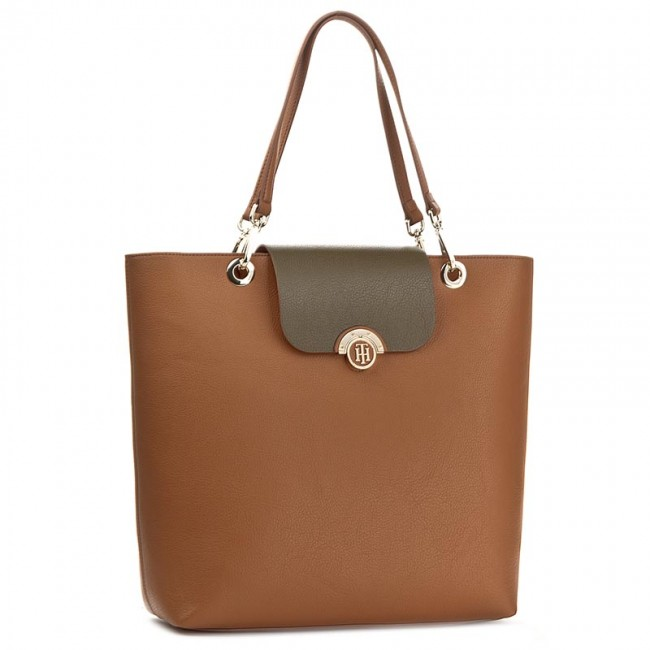 Torebka TOMMY HILFIGER - Effortless Novelty Tote AW0AW004600  903