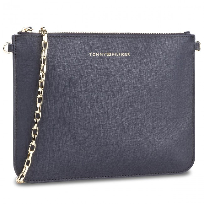 Torebka TOMMY HILFIGER - Mix N Match Pouch Solid W Chain AW0AW04885 413