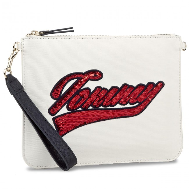 Torebka TOMMY HILFIGER - Mix N Match Pouch Cnvs Tommy Bdg AW0AW04886 103