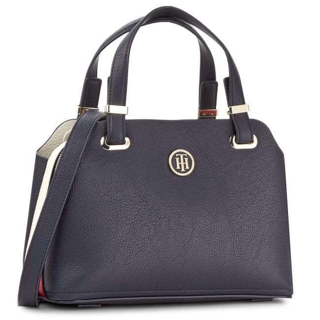 Torebka TOMMY HILFIGER - Th Core Med Satchel AW0AW05028 901