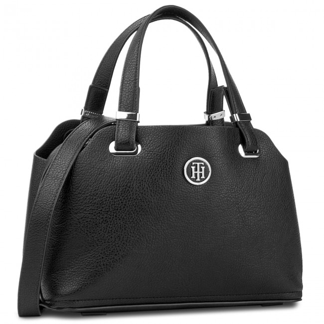 Torebka TOMMY HILFIGER - Th Core Med Satchel AW0AW05028 002