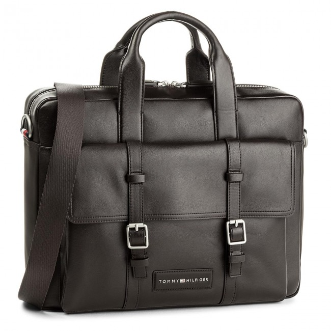 60a76337 Torba na laptopa TOMMY HILFIGER - Th City Computer Bag AM0AM02944 244
