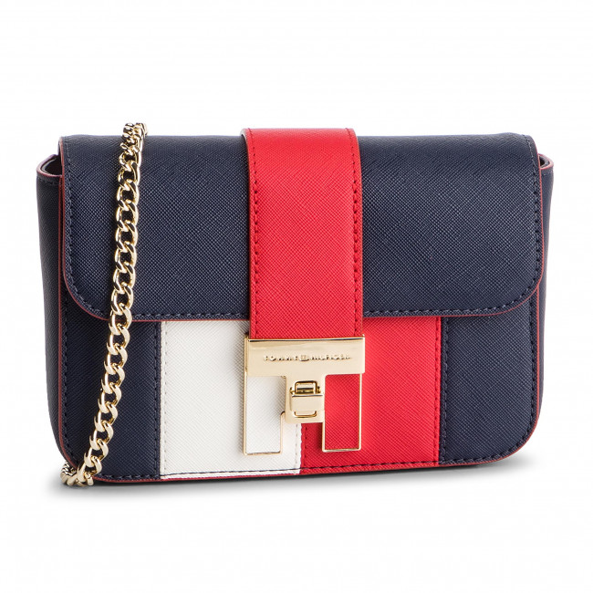 Torebka TOMMY HILFIGER - Th Heritage Mini Crossover AW0AW06409 901