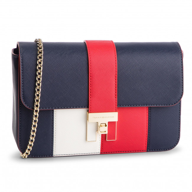 Torebka TOMMY HILFIGER - Th Heritage Crossover AW0AW06403 901