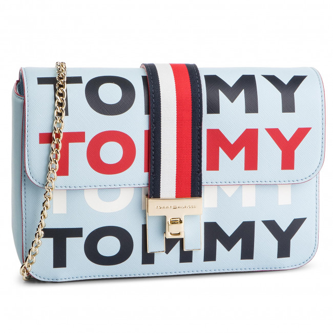 Torebka TOMMY HILFIGER - Th Heritage Crossover Tommy AW0AW06874 902