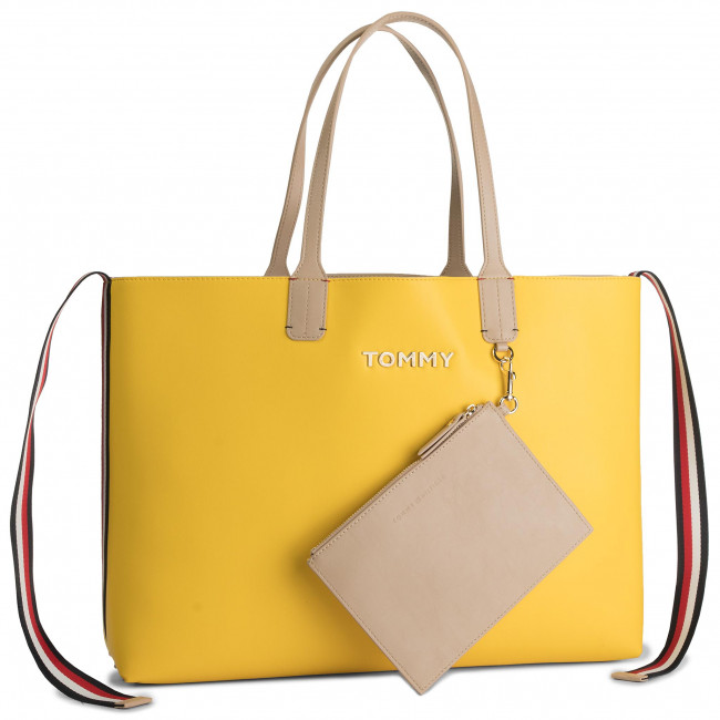 Torebka TOMMY HILFIGER - Iconic Tommy Tote AW0AW06833 904