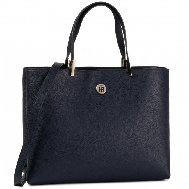 Torebka TOMMY HILFIGER - Th Core Satchel AW0AW07686  CJM