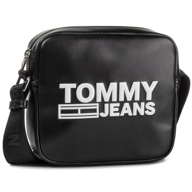 Torebka TOMMY JEANS - Tjw Texture Pu Crossover AW0AW07639 BDS