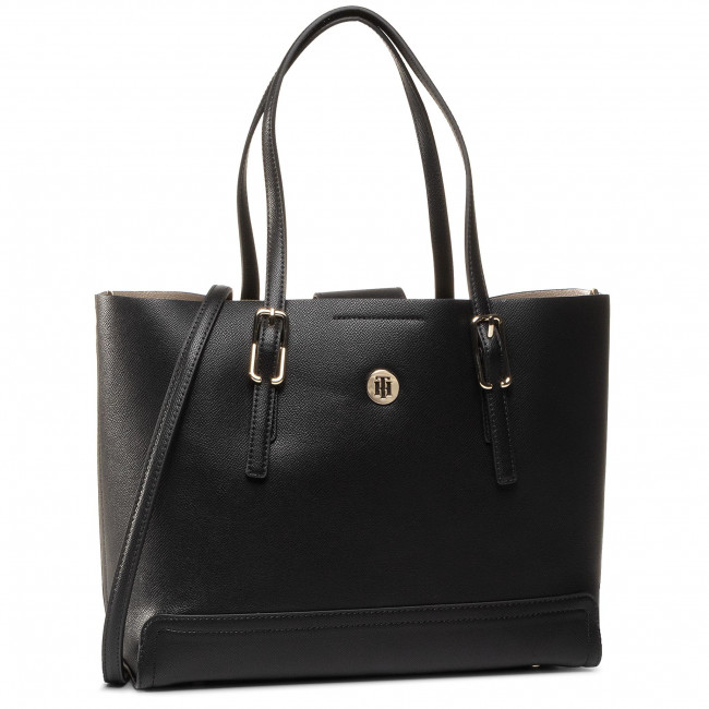 Torebka TOMMY HILFIGER - Honey Med Tote AW0AW07933 BDS