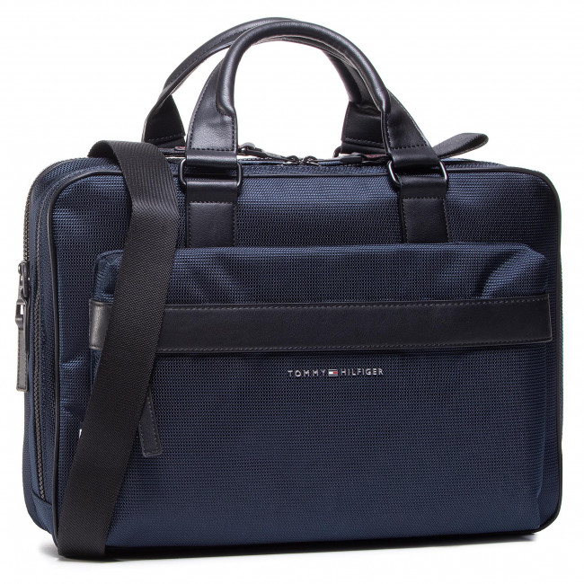 Torba na laptopa TOMMY HILFIGER - Elevated Nylon Workbag AM0AM06473 DW5