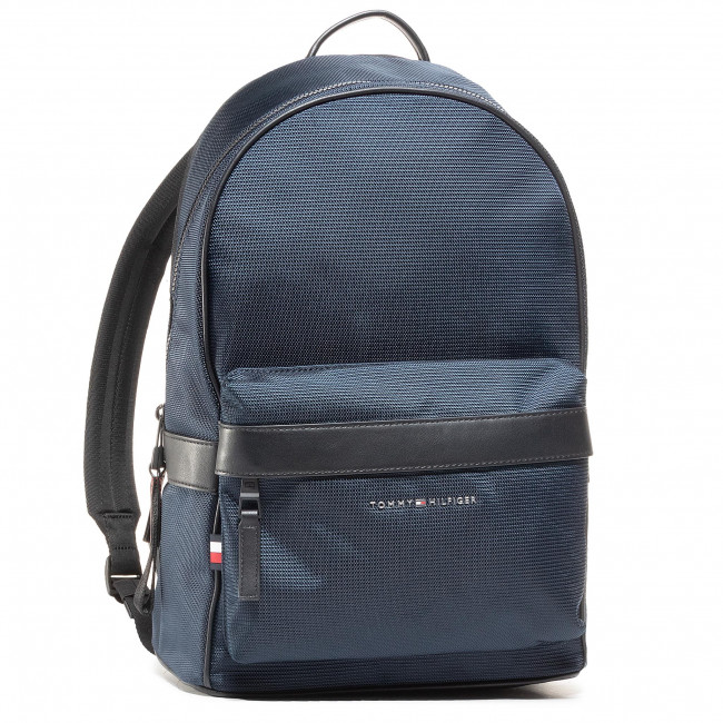 Plecak TOMMY HILFIGER - Elevated Nylon Backpack AM0AM06468 BLU
