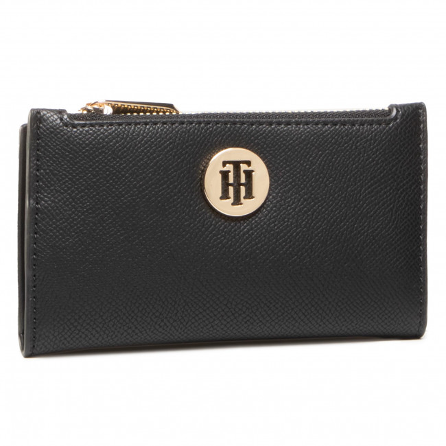 Etui na karty kredytowe TOMMY HILFIGER - Honey Slim Wallet AW0AW08899 0GJ