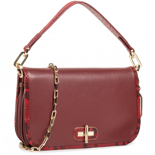 Torebka TOMMY HILFIGER - Leather Statement Crossover AW0AW09084 VLP