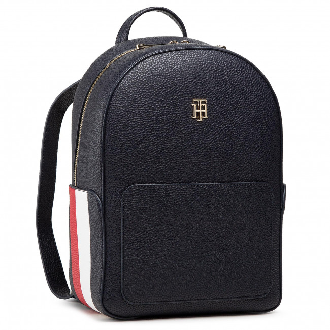 Plecak TOMMY HILFIGER - Th Essence Backpack Corp AW0AW09677 DW5