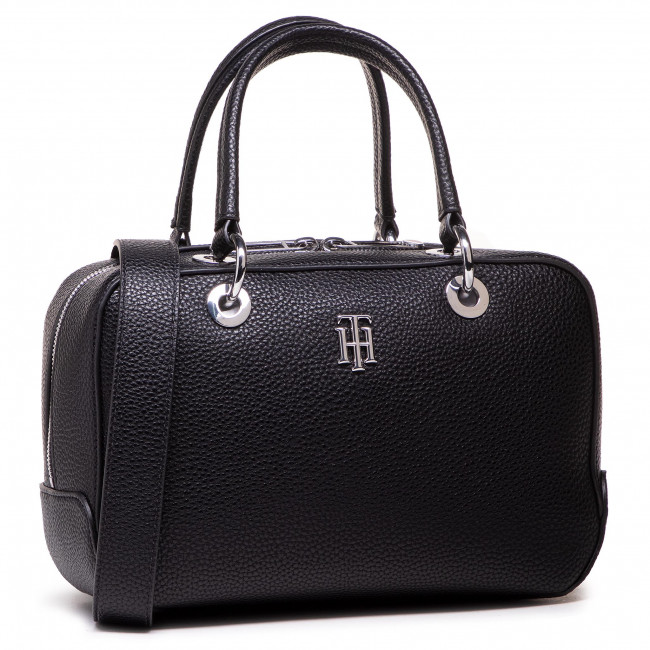 Torebka TOMMY HILFIGER - Th Essence Med Duffle AW0AW09686 BDS