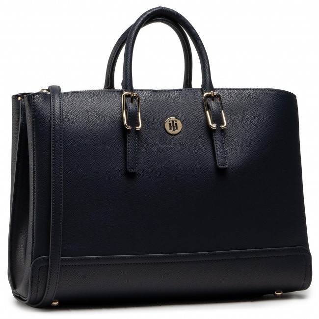 Torebka TOMMY HILFIGER - Honey Workbag AW0AW09658 BLU