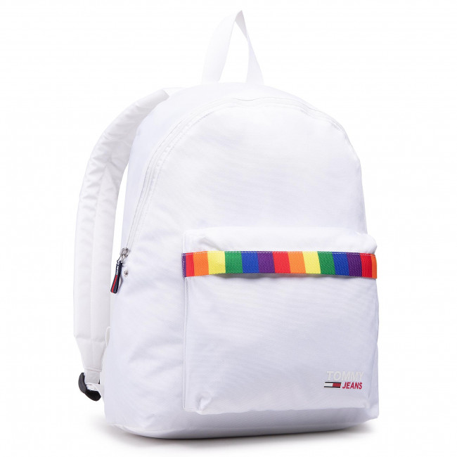 Plecak TOMMY JEANS - Tjm Campus Dome Backpack Pride AM0AM07397 YBR