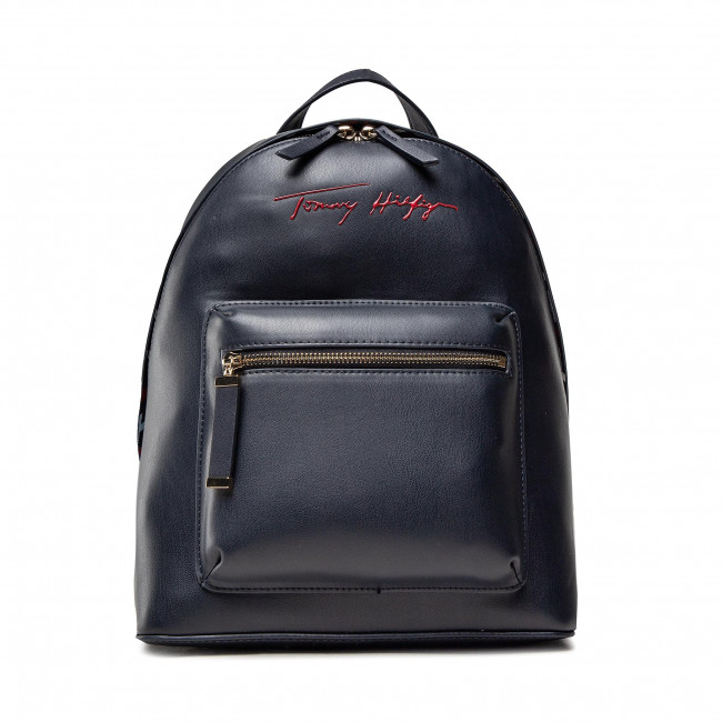 Plecak TOMMY HILFIGER - Iconic Tommy Backpack Sign AW0AW10459 DW5