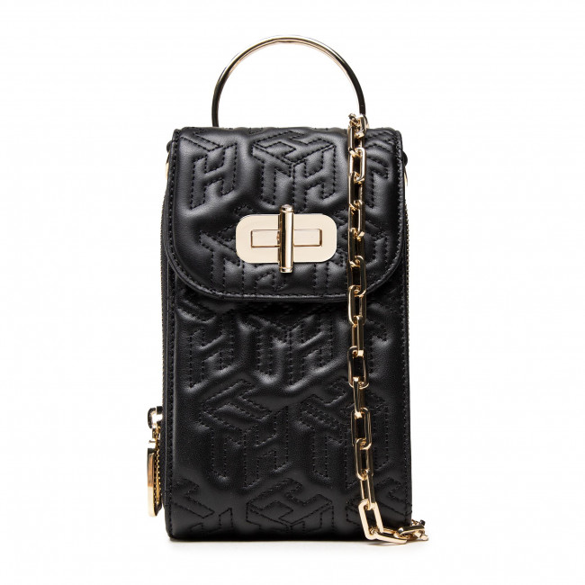 Torebka TOMMY HILFIGER - Turnlock 3 Way Crossover Mono AW0AW10485 BLK