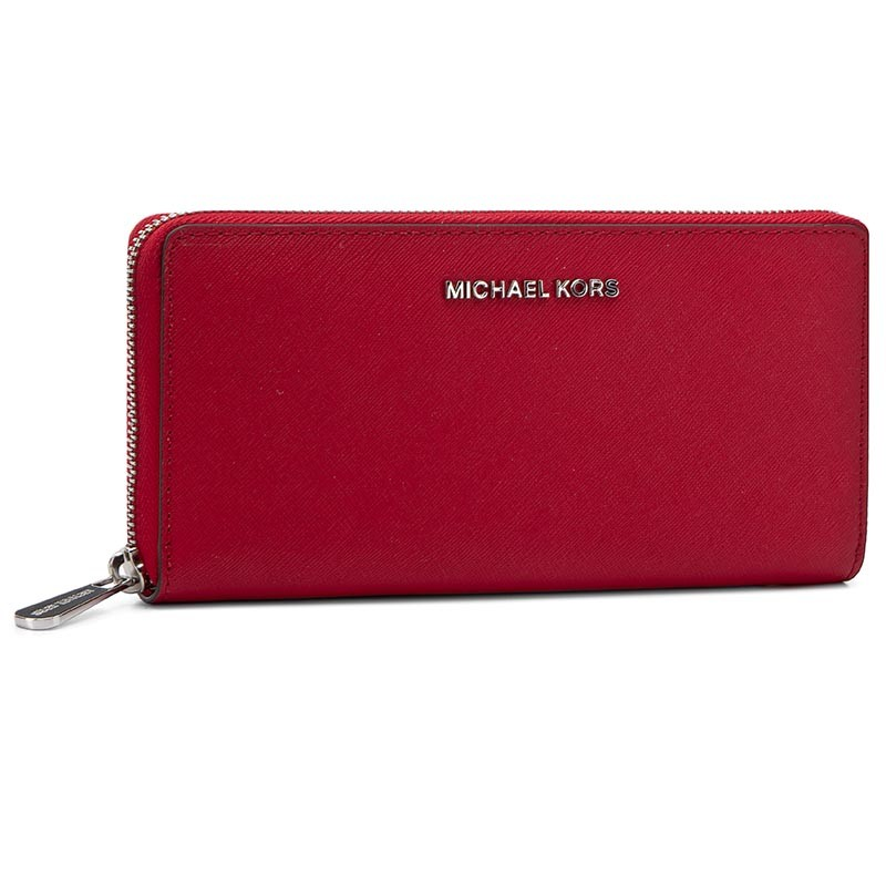Duży Portfel Damski MICHAEL KORS - Jet Set Travel 32T3STVE3L Red ... 92921ee689