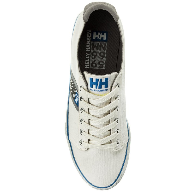 Tenisówki HELLY HANSEN - Salt Flag F-1 113-01.011 Off White/Silver Grey/Blue Water - Trampki - Półbuty - Męskie