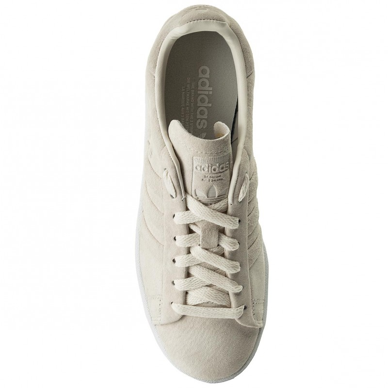 Buty adidas - Campus Stitch And Turn BB6744 Cwhite/Cwhite/Ftwwht - Sneakersy - Półbuty - Damskie