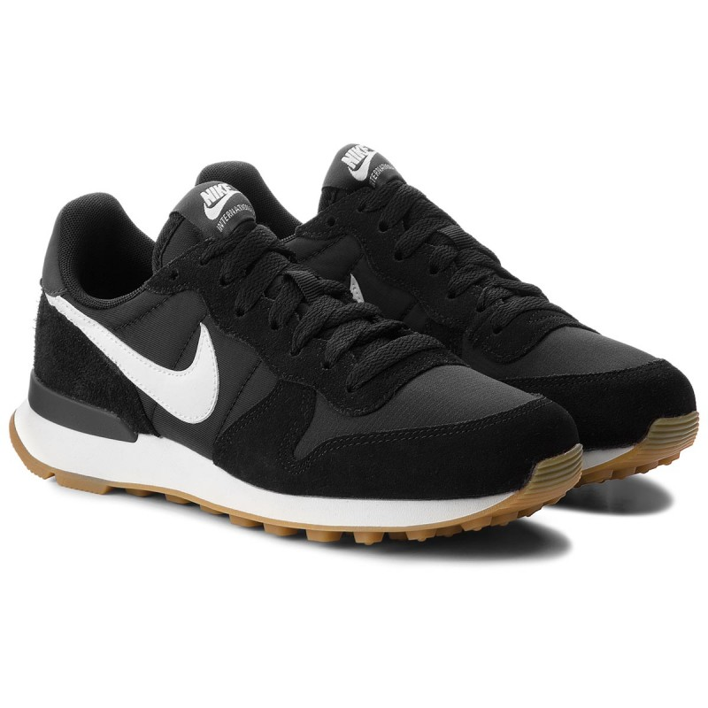 Buty NIKE - Internationalist 828407 021 Black/Summit White/Anthracite - Sneakersy - Półbuty - Damskie
