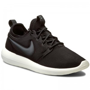 free shipping 57e82 ee2c2 Buty NIKE Roshe Two 844931 002 Black Anthracite Sail Volt
