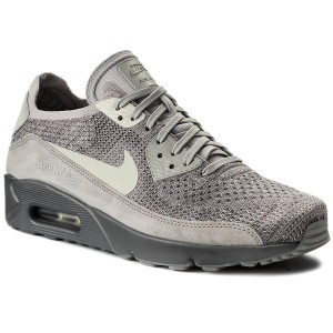 c761f7eeac2b8 Buty NIKE - Air Max 90 Ultra 2.0 Flyknit 875943 007 Atmosphere Grey/Light  Bone - Sneakersy - Półbuty - Męskie - eobuwie.pl