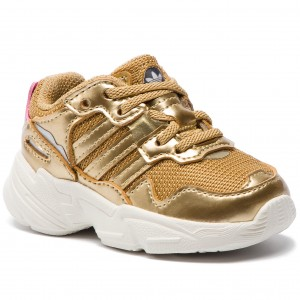 sneakers for cheap 0bff4 0f749 Buty adidas Yung-96 El I DB3499 GoldmtGoldmtOwhite