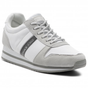 e6c652a3842c3 Sneakersy TOMMY HILFIGER - Iridescent Light Sneaker FW0FW04100 White ...