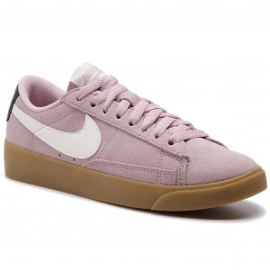 sports shoes f518b e7f1c Buty NIKE Blazer Low Sd AV9373 500 Plum ChalkSailOil Grey