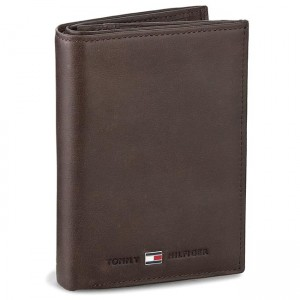 bafa5e4939d73 Duży Portfel Męski TOMMY HILFIGER - Johnson N S Wallet W Coin Pocket  AM0AM00664