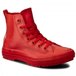 be834691073a Trampki CONVERSE Ctas Chelsea Boot Rubber Hi 553265C Signal Red Signal Red