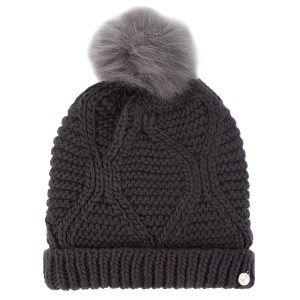 d9a51a43c047f Czapka GUESS Not Coordinated Wool AW6801 WOL01 GRY