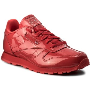 Buty Reebok Classic Leather Patent CN2062 Red Sneakersy