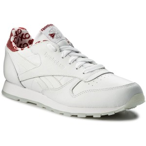 055128d315d04 Buty Reebok - Classic Leather Patent CN2063 White - Sneakersy ...