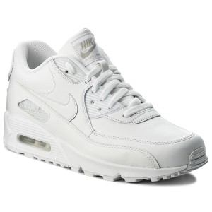 official photos a4fd6 97792 Buty NIKE - Air Max 90 Leather 302519 113 True WhiteTrue White