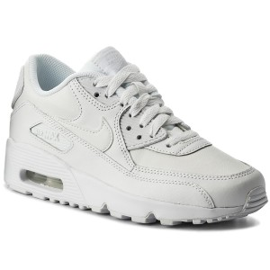 Buty NIKE Air Max 90 Ltr (GS) CD6864 101 WhiteParticle