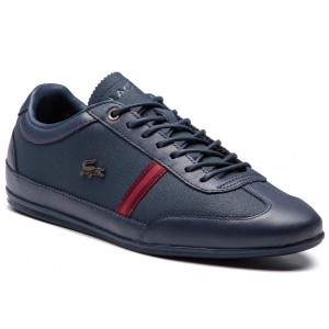 b18431770 Sneakersy LACOSTE - Misano 318 1 Cam 7-36CAM00565A5 Nvy Dk Red