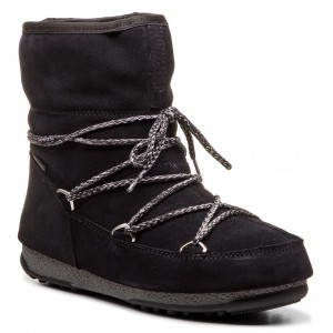 f627584a3bb16 Śniegowce HUNTER - Org Snow Short Quilted Boot WFS2018WWR Black ...