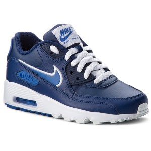 Buty Nike Air Max 90 Leather GS (833412 410) Gym Blue