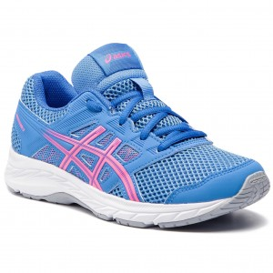 Черевики ASICS - Contend 5 Gs 1014A049 Blue Coast Hot Pink 402 9af0cf7e7fba4