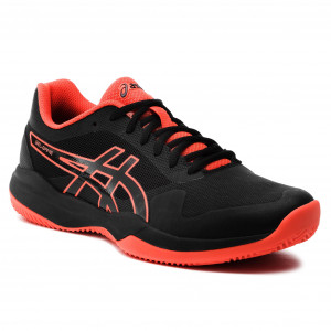 80bbad2f Buty ASICS - Gel-Game 7 Clay/Oc 1041A046 Black/Cherry Tomato 010