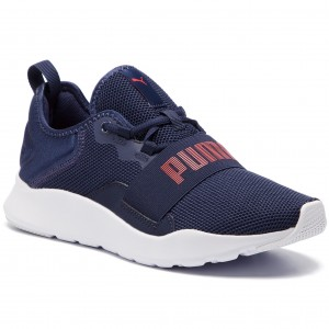 Снікерcи PUMA - Wired Pro 369126 04 Peacoat High Risk Red 9a79ab7419fe4