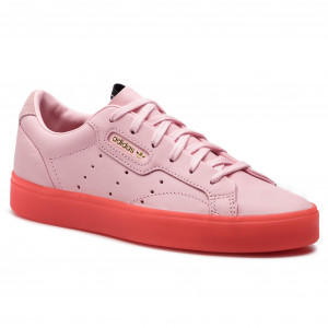 new product 194bb 18221 Buty adidas Sleek W BD7475 DivaDivaRed