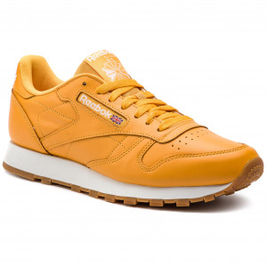 96d56f51ade13 Buty Reebok - Classic Leather Mu DV3841 Trek Gold/White