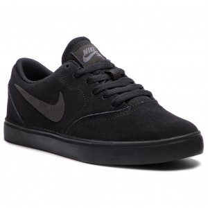 69cea84dea3f1 Buty NIKE Sb Check Suede (GS) AR0132 001 Black/Black Anthracite