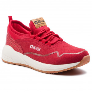 8fbf52ec0204 Sneakersy BIG STAR DD274286 Red