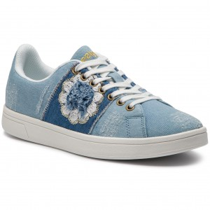 bacefd8cf8781 Sneakersy DESIGUAL - Cosmic Exotic Denim 19SSKD03 5007